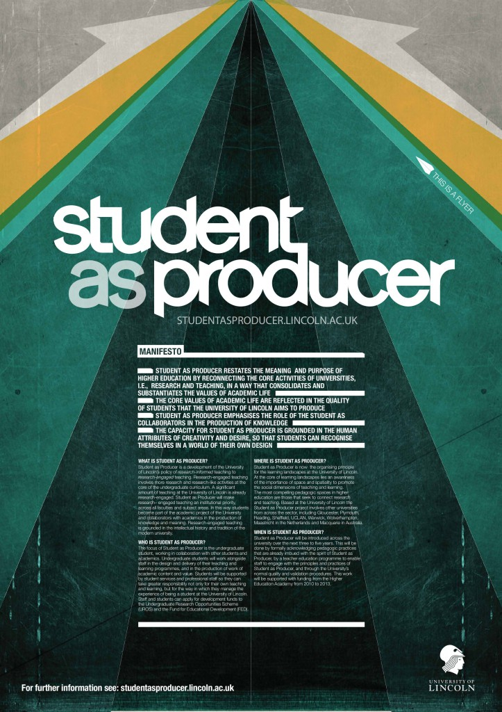 Student-as-Producer